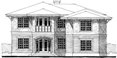 Devonshire House Plans - Perspective