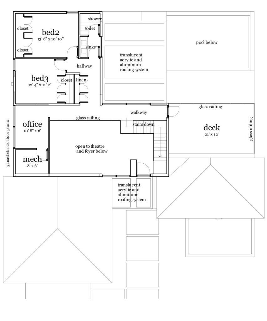 ganache brick house plan  u2013 by tyree house plans