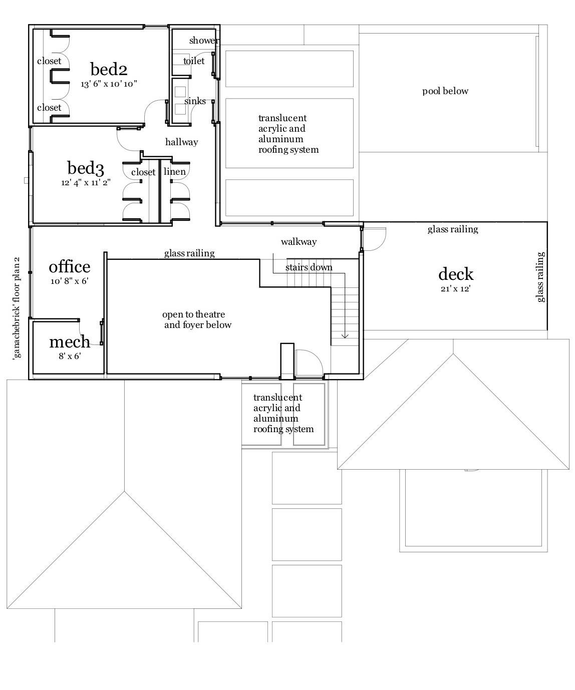 Ganache Brick House Plan Tyree House Plans