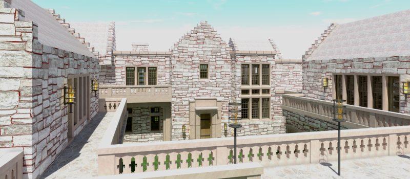 Declan Castle Plan - Tyree House Plans