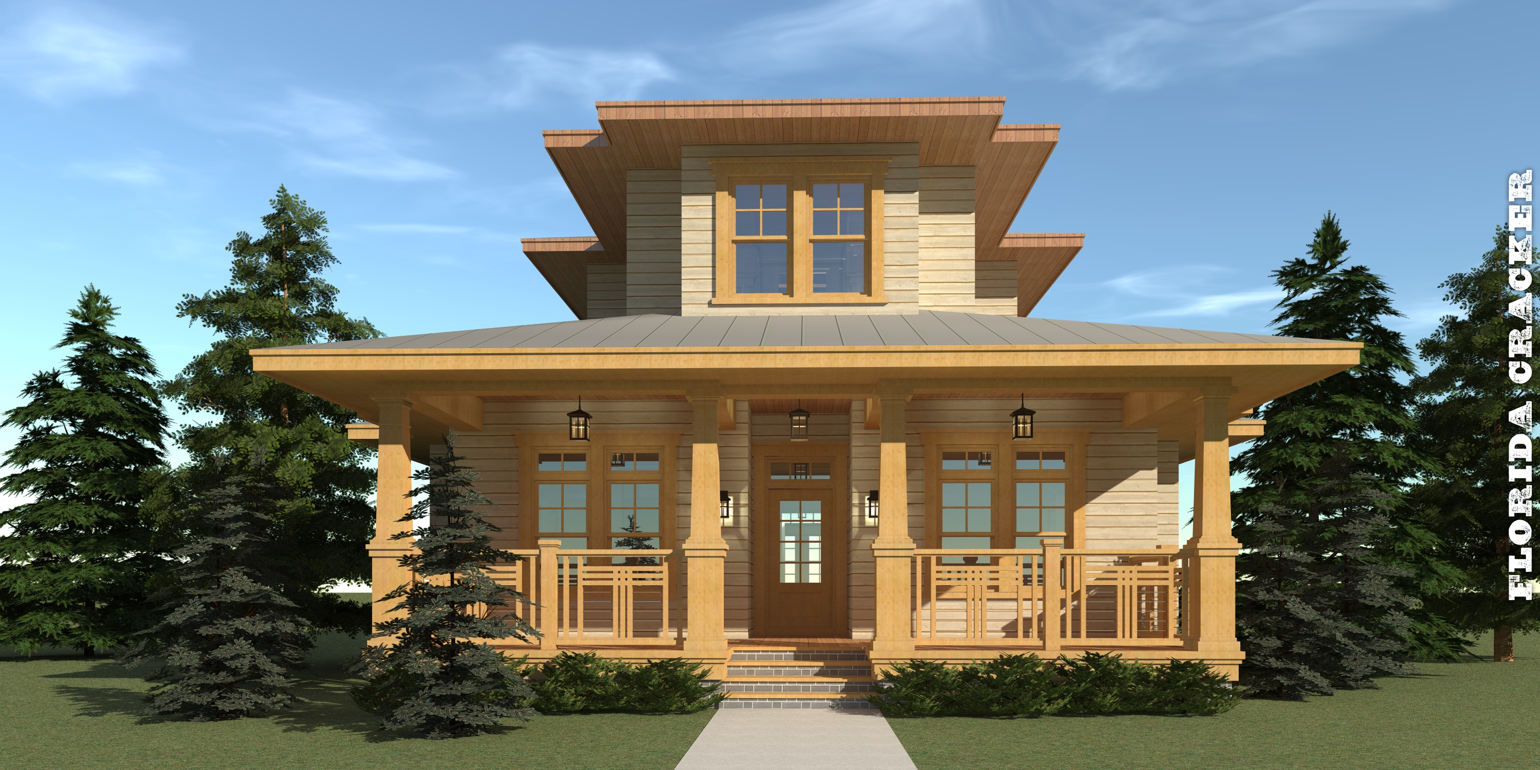 Florida cracker house plan by tyree house plans for House plans florida cracker style