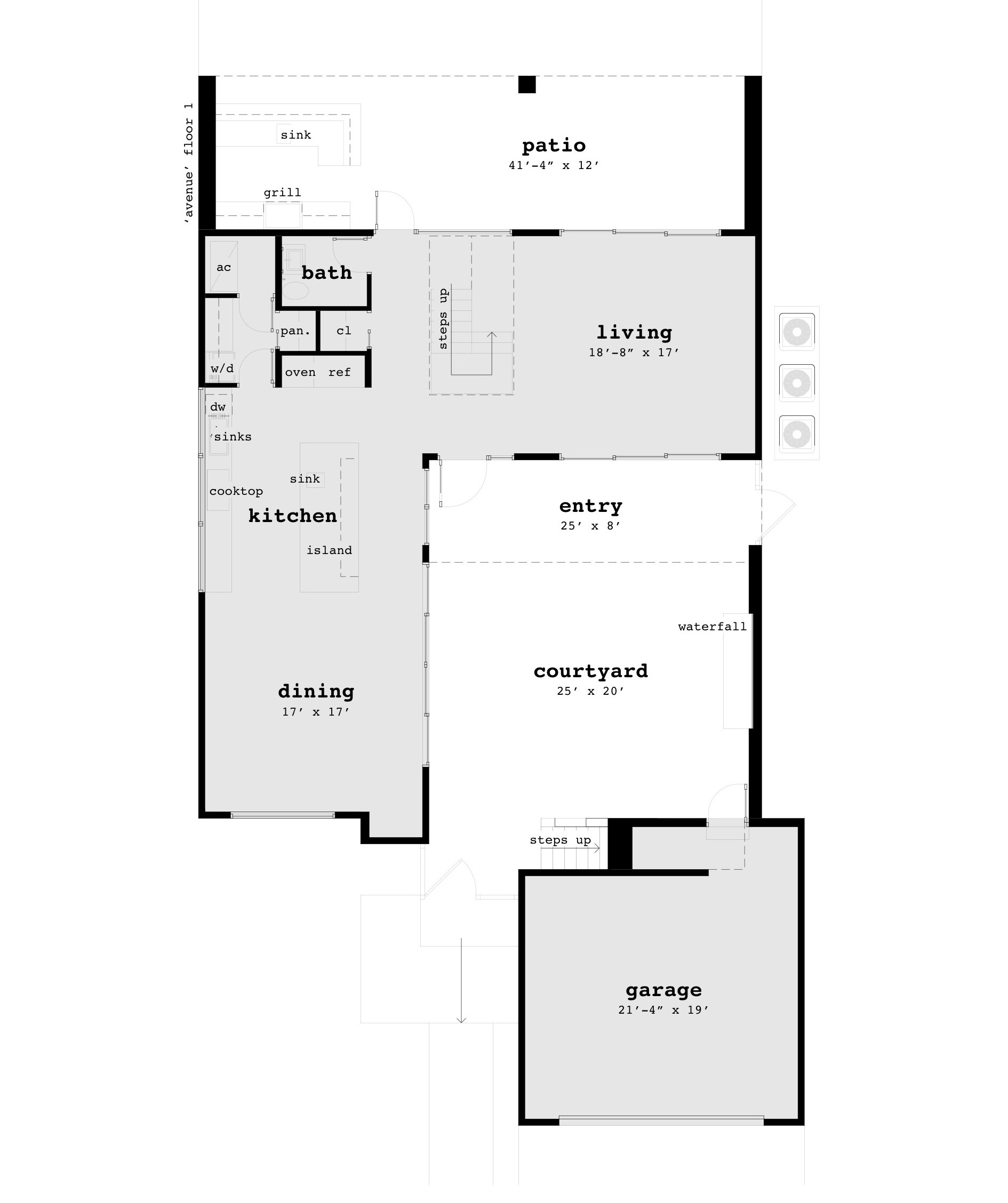 Terrific 18 x 20 house plans gallery best interior for 10x20 tiny house floor plans