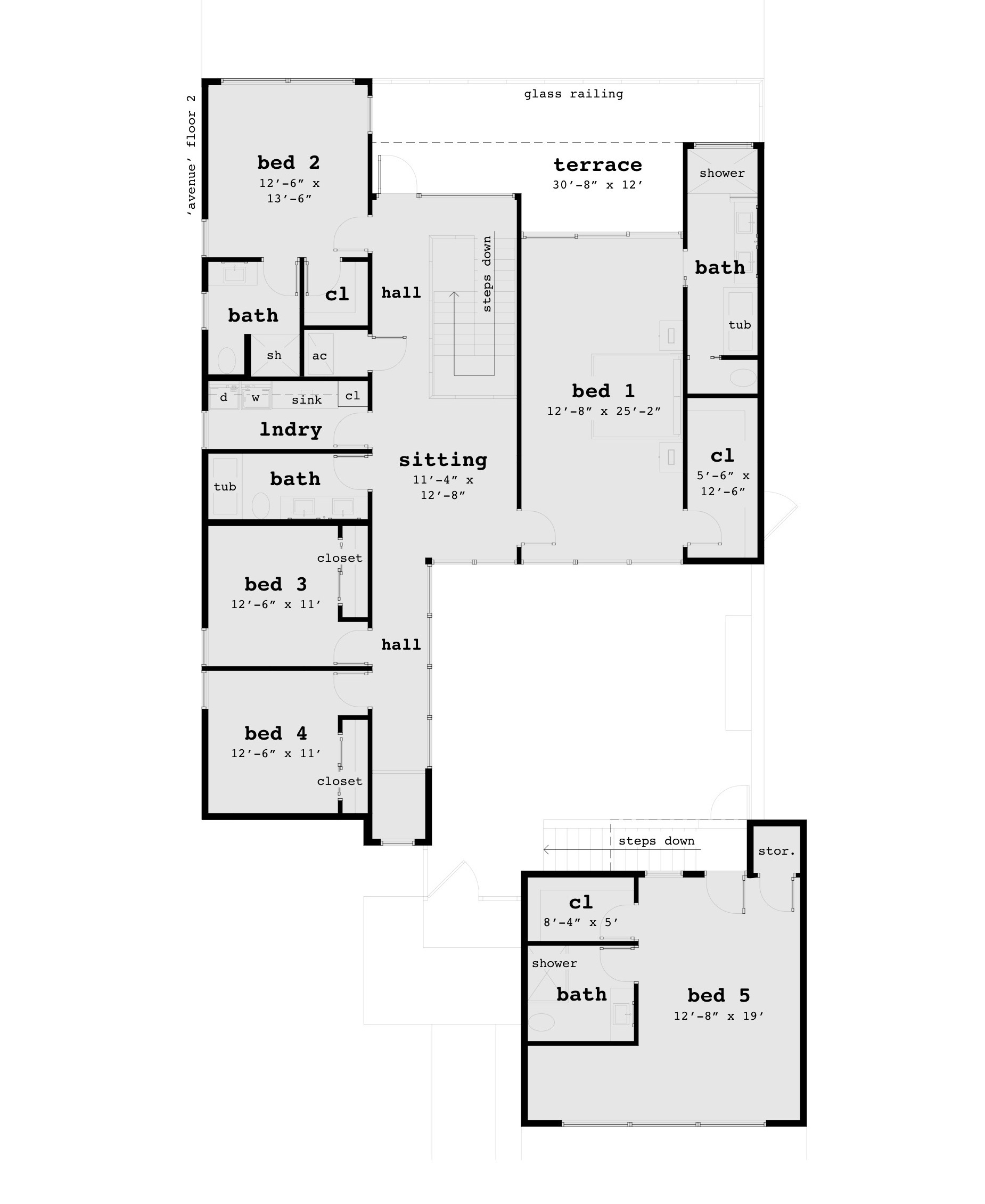 Avenue house plan tyree house plans for Home plans with photos