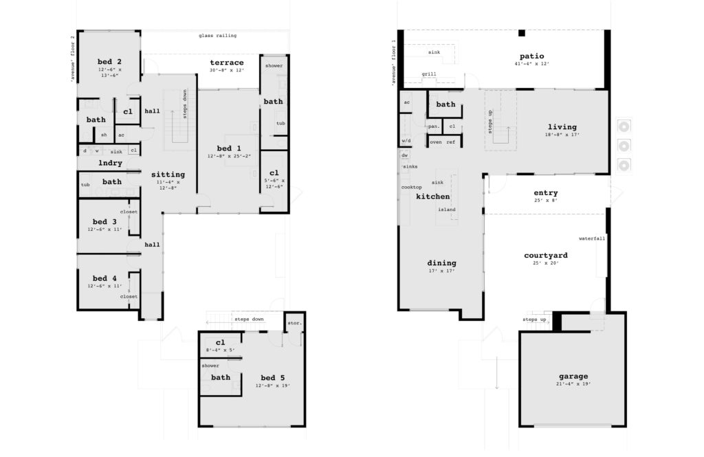 Floor Plans - Owner House Plan - Tyree House Plans