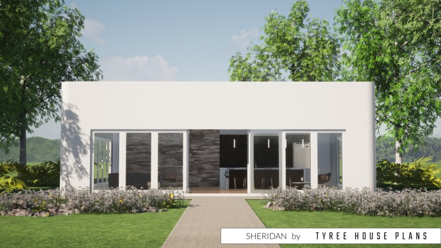 Sheridan House Plan by Tyree House Plans