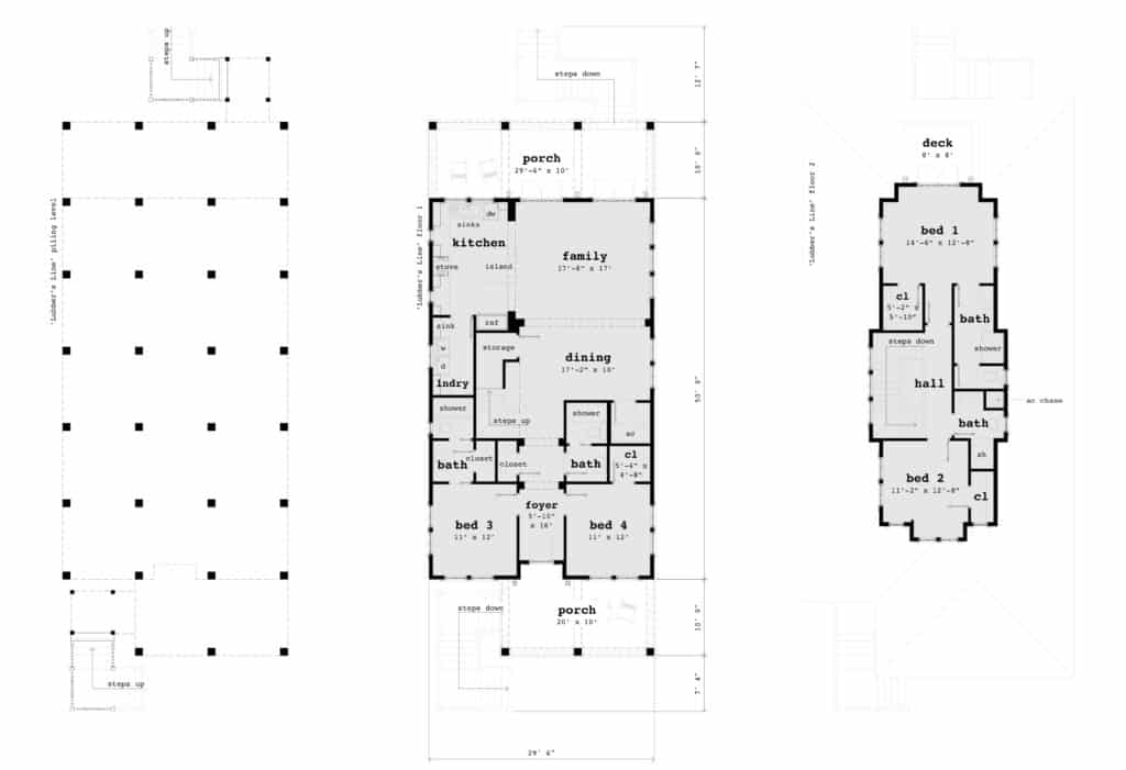 Lubber S Line House Plan By Tyree House Plans
