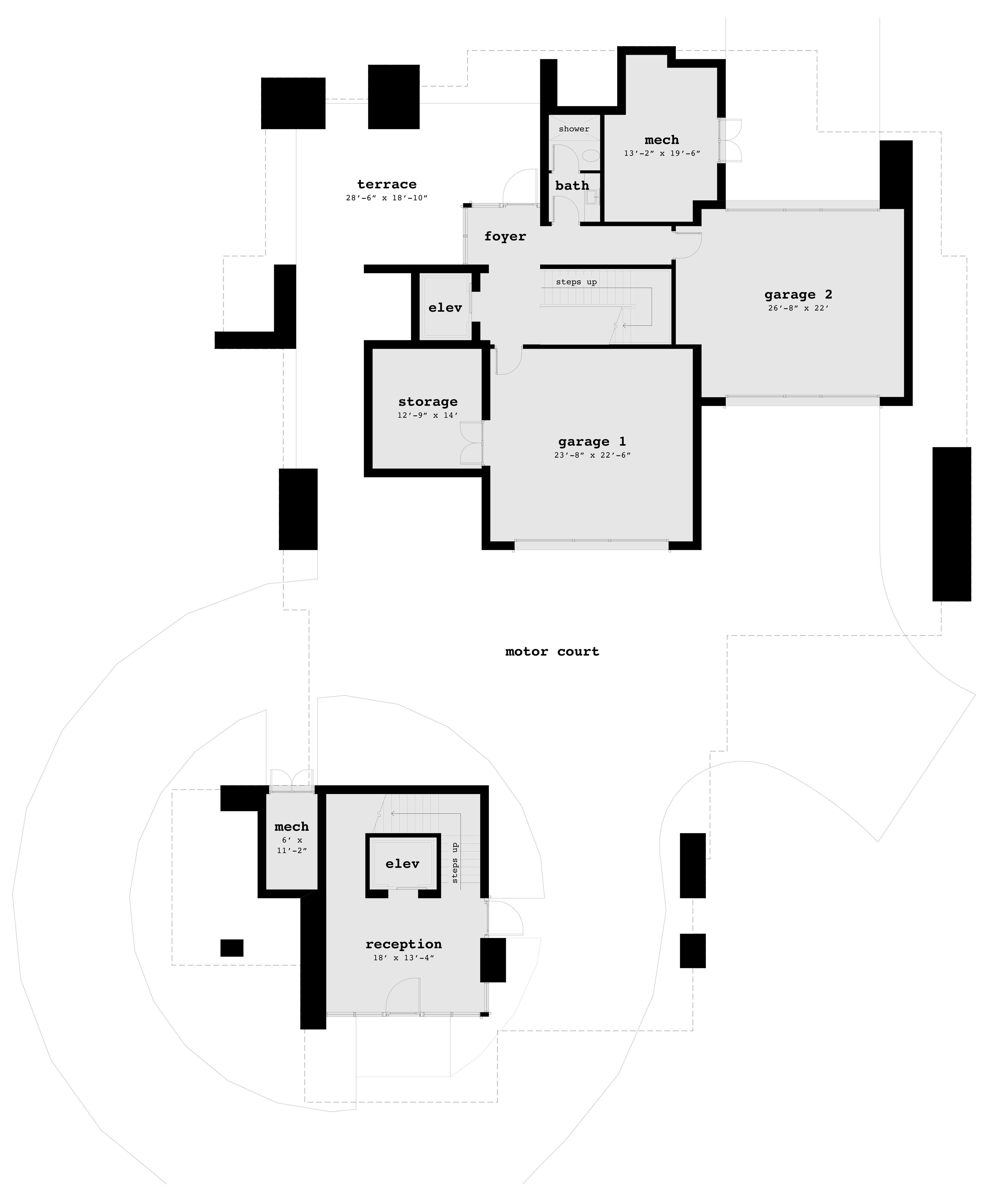 Floor 1 - Blackberry Blossom House Plan - Tyree House Plans