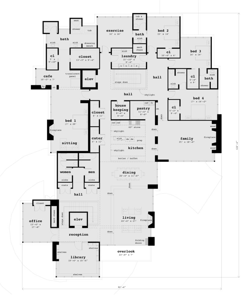 Floor 2 - Blackberry Blossom House Plan - Tyree House Plans