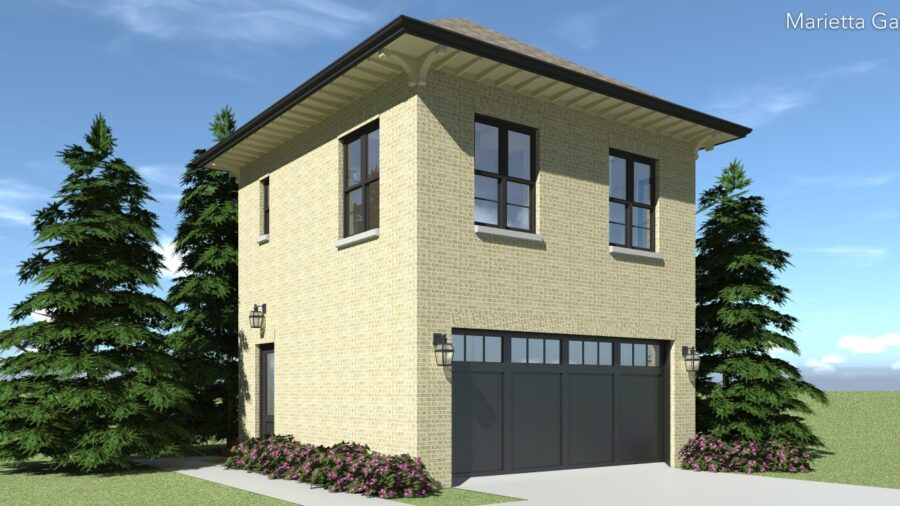 Marietta Garage Plan by Tyree House Plans