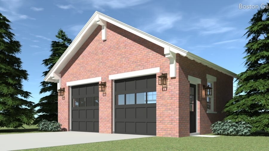 Boston Garage Plan - Tyree House Plans