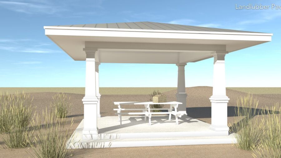 Landlubber Pavilion Plan - Tyree House Plans