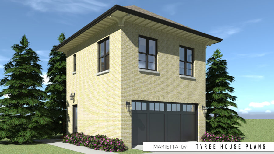 Marietta House Plan by Tyree House Plans