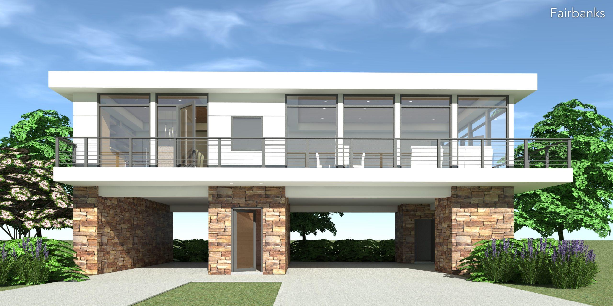 Fairbanks House Plan - Tyree House Plans