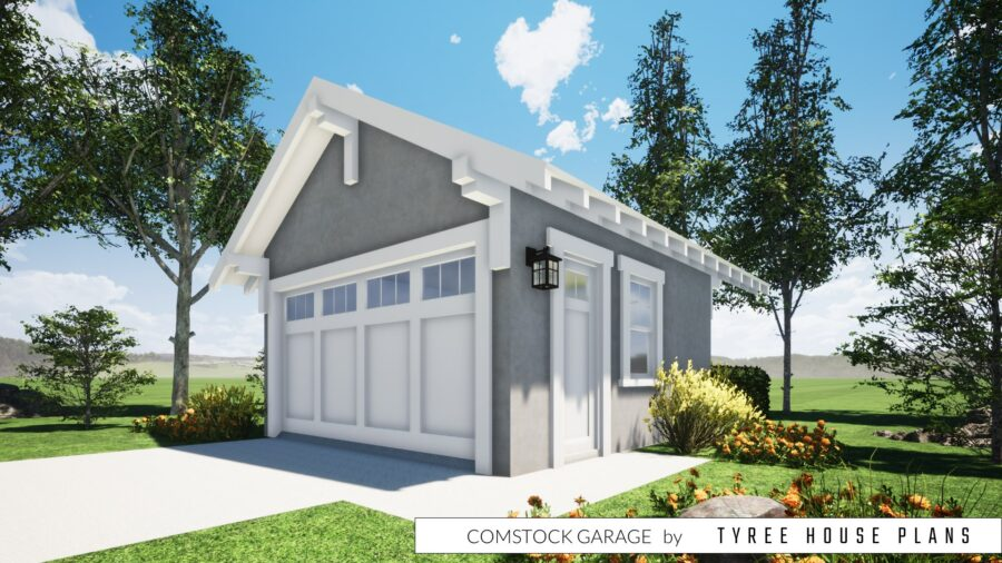 Comstock Garage Plan by Tyree House Plans