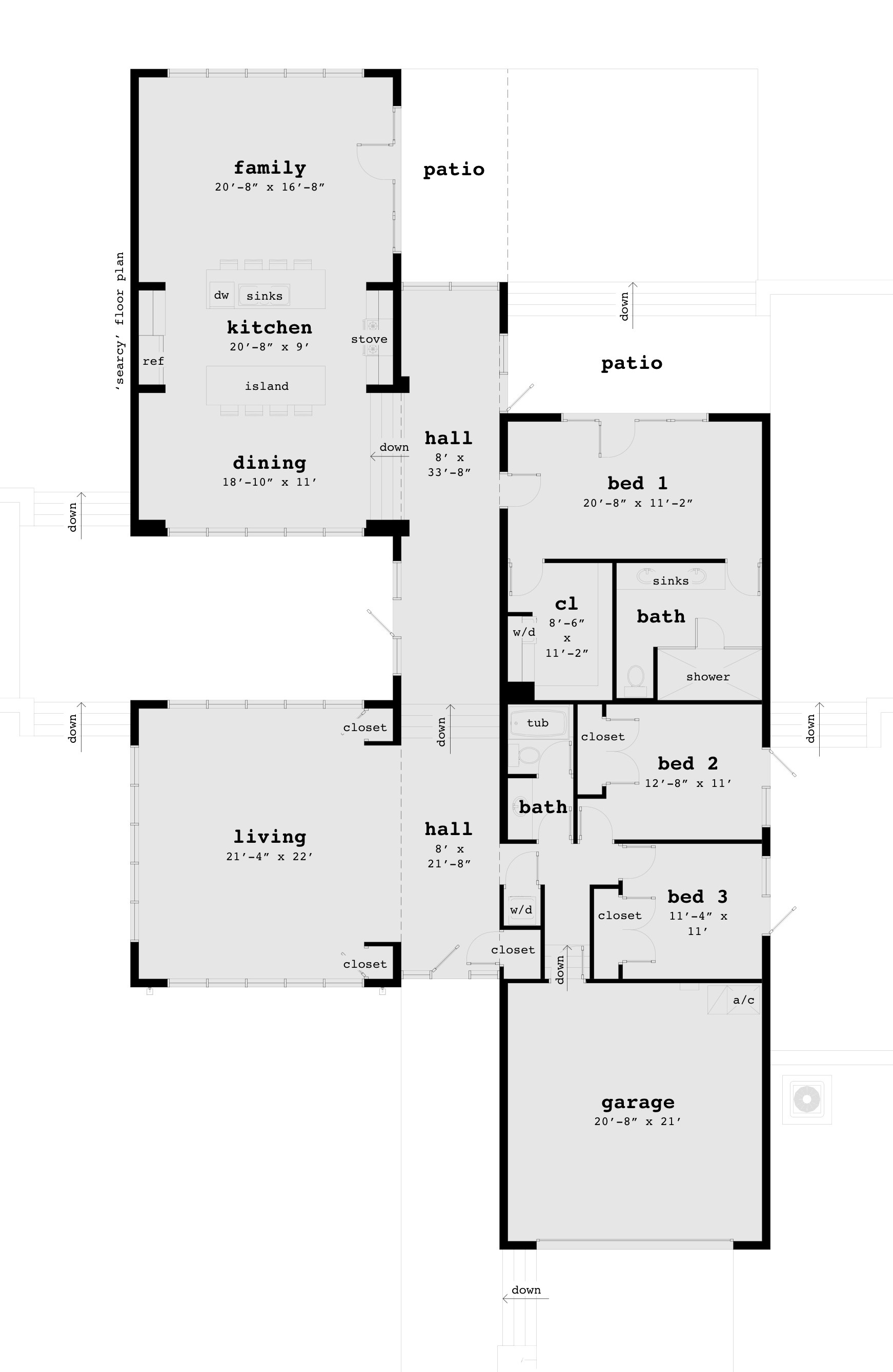 Searcy House Plan – Tyree House Plans