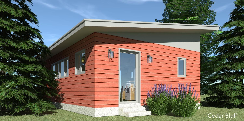 Cedar Bluff House Plan - Tyree House Plans