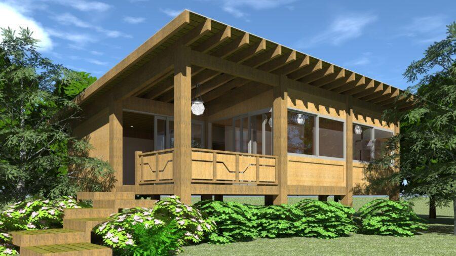 Chickadee House Plan - Tyree House Plans