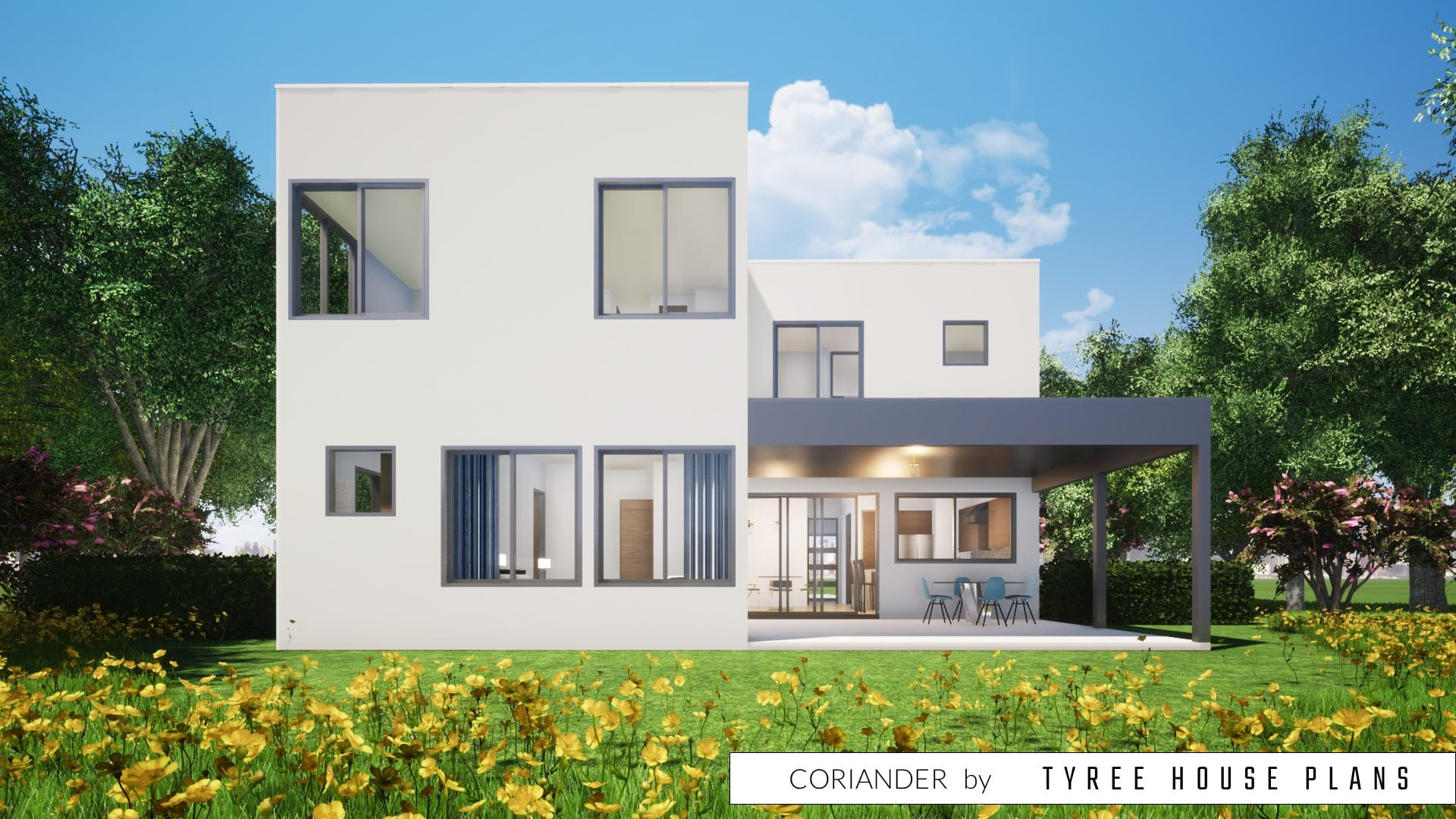 Coriander House Plan by Tyree House Plans