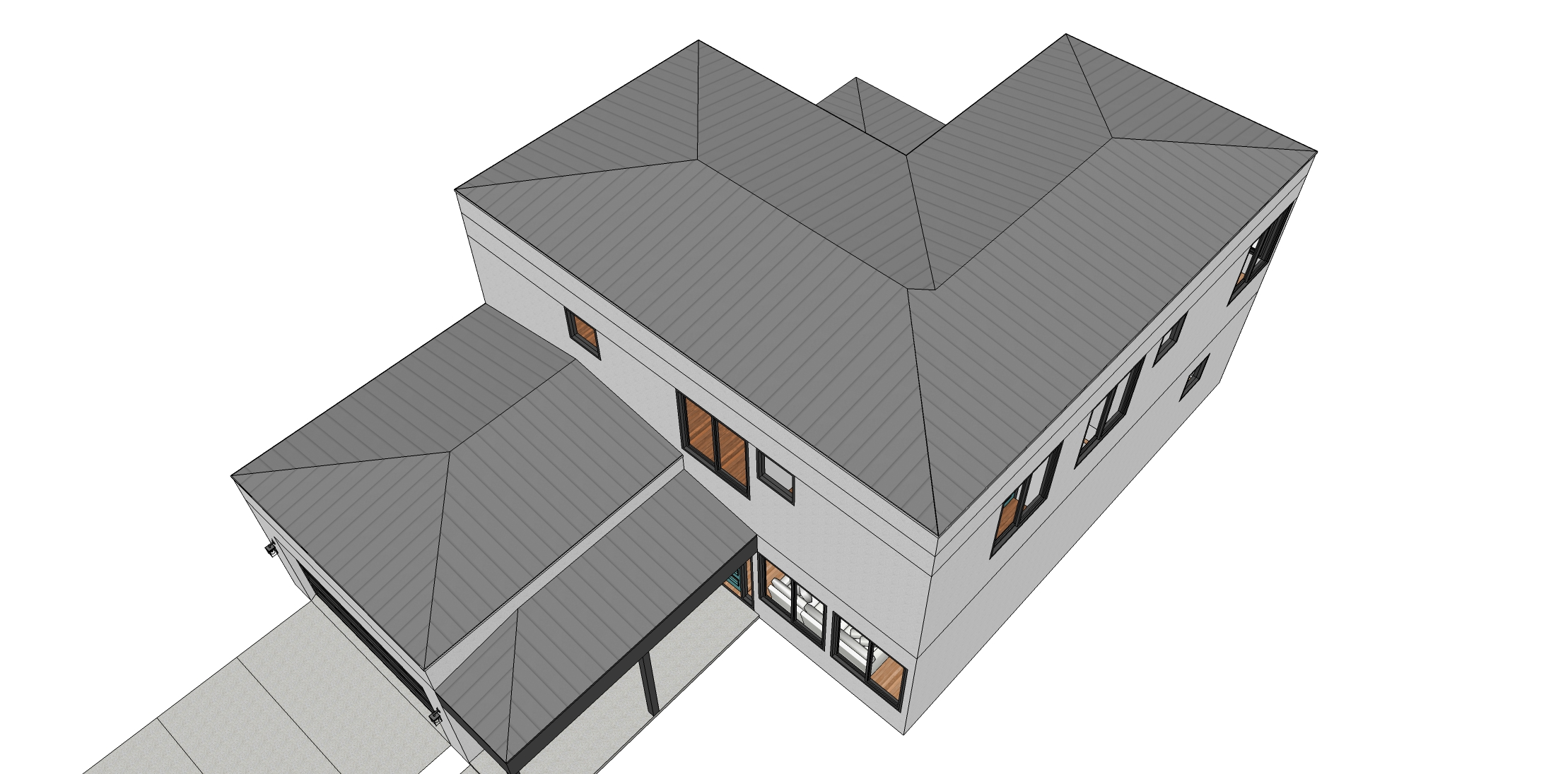 Roof - Coriander House Plan - Tyree House Plans