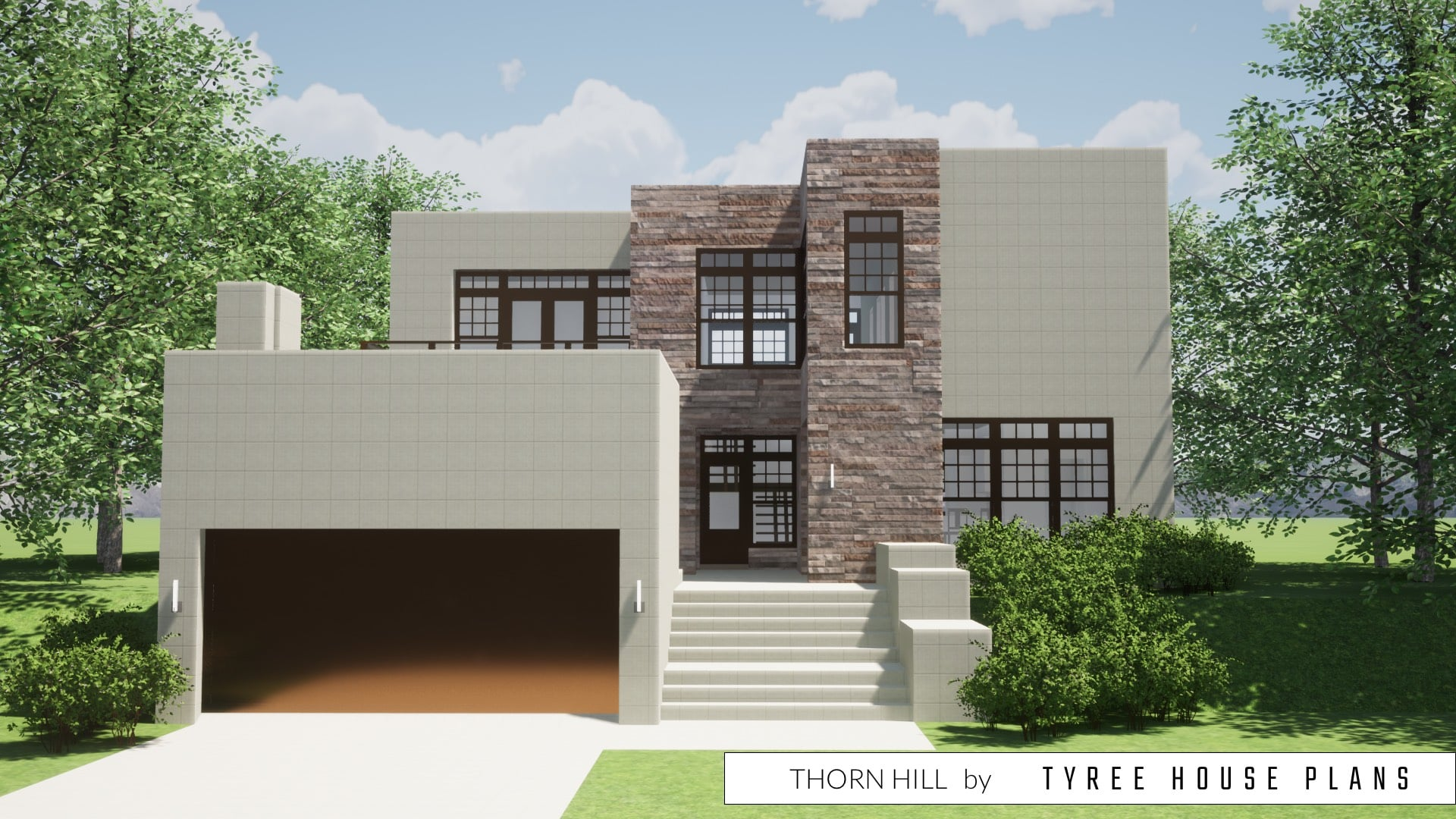 Thorn Hill House Plan by Tyree House Plans