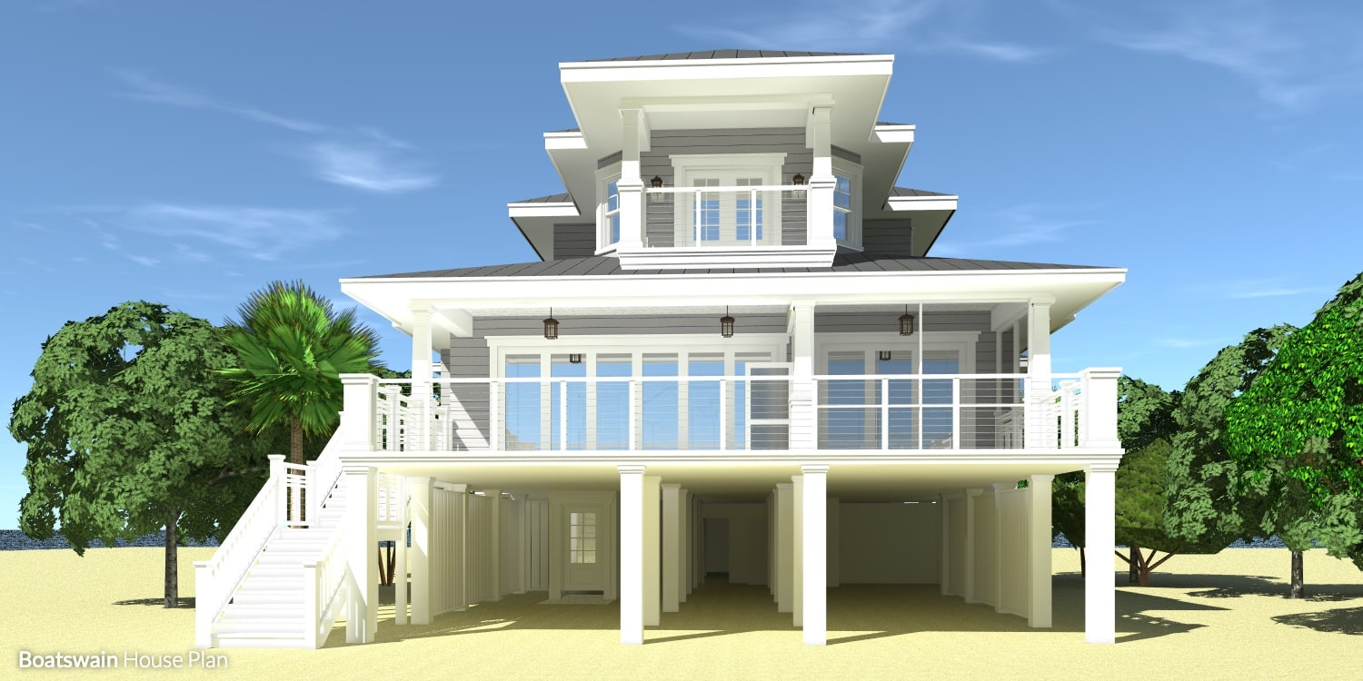 Boatswain House Plan by Tyree House Plans