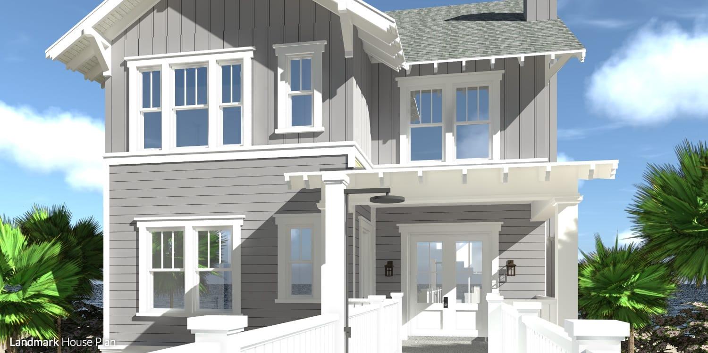 Landmark House Plan by Tyree House Plans