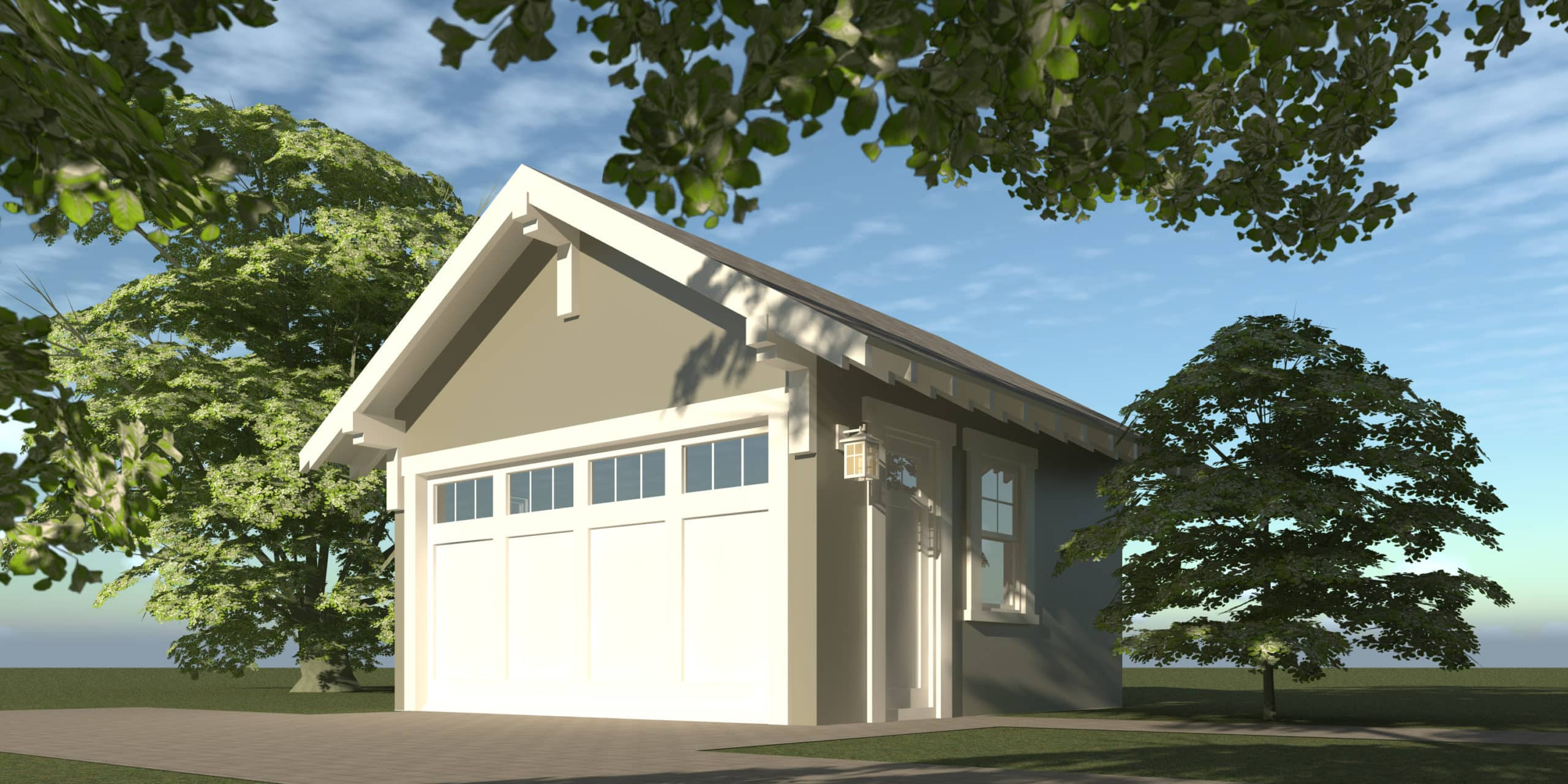 Garage - Blake House Plan by Tyree House Plans