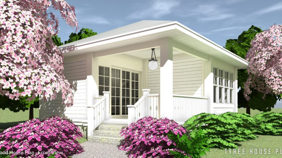 Dogwood House Plan by Tyree House Plans