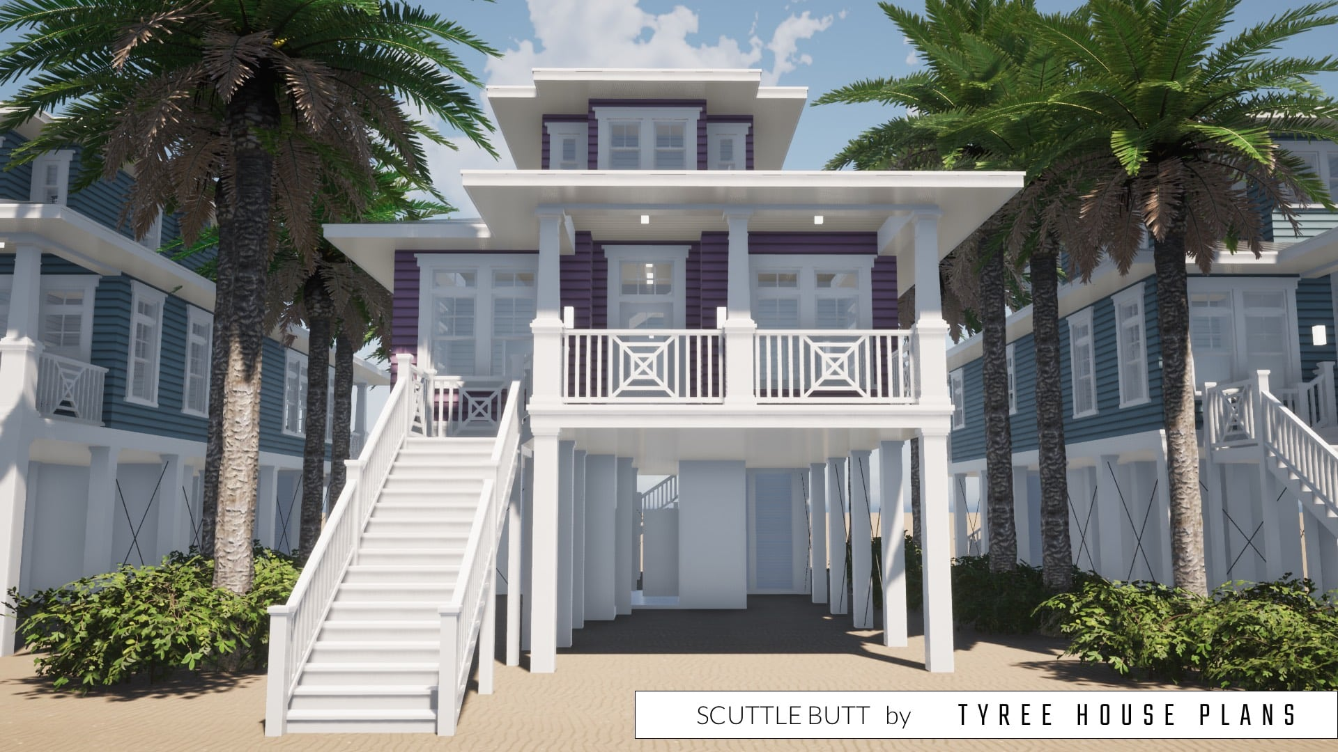 Scuttle Butt House Plan by Tyree House Plans