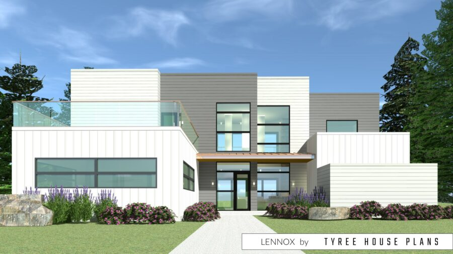 Lennox House Plan by Tyree House Plans