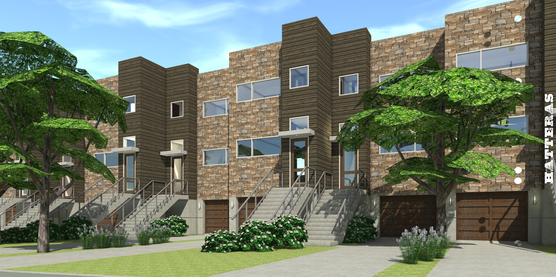 Hatteras Multi-Family House Plan