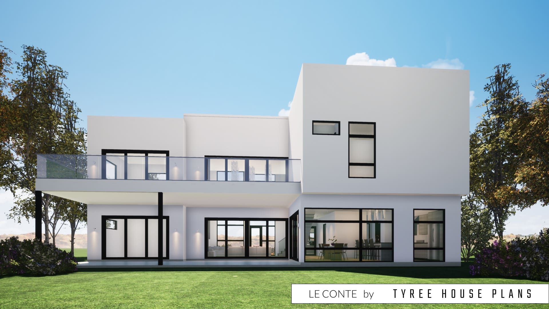 Le Conte House Plan by Tyree House Plans
