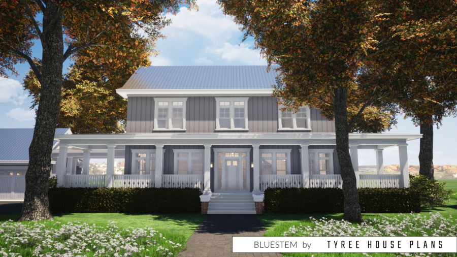 Bluestem House Plan by Tyree House Plans