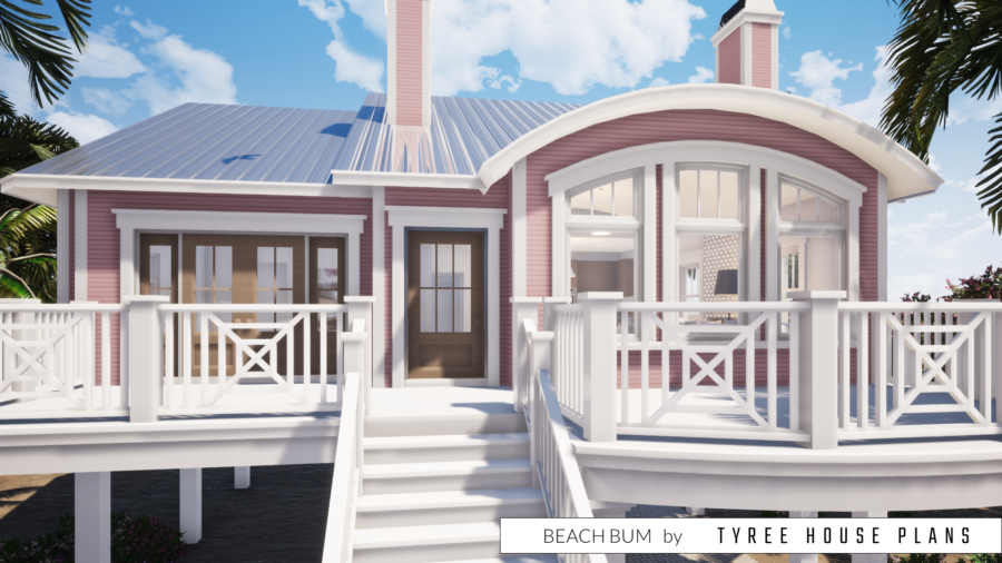 Beach Bum House Plan by Tyree House Plans
