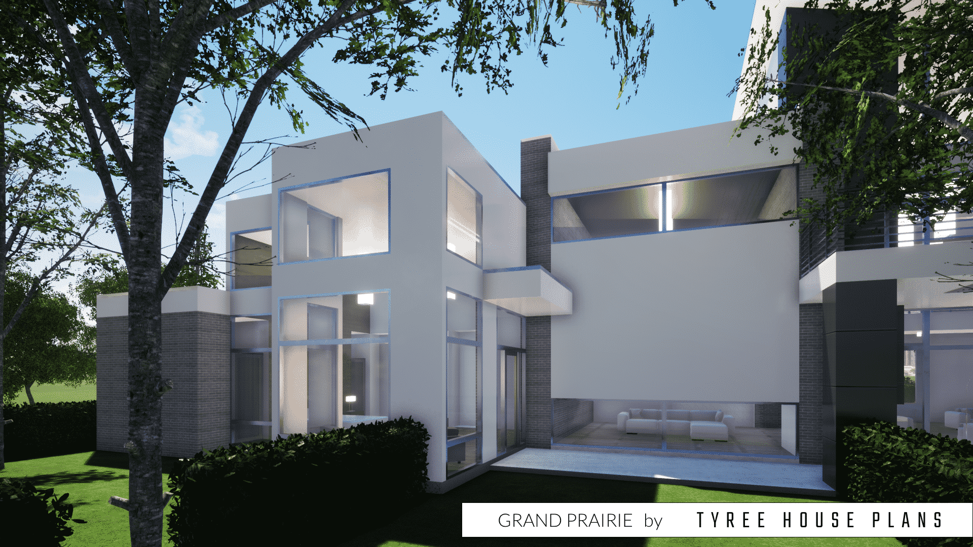 Grand Prairie House Plan by Tyree House Plans