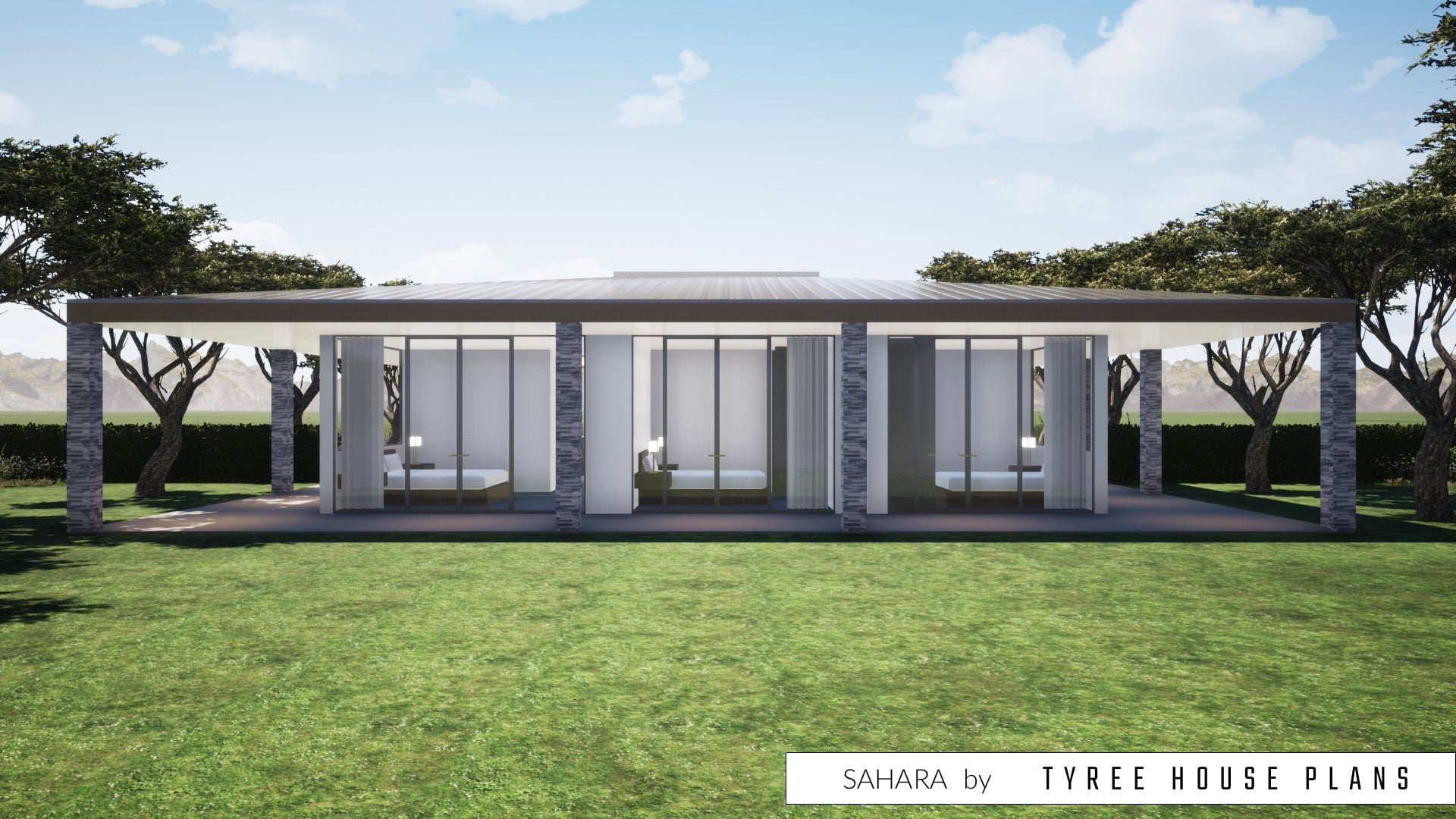 Sahara House Plan by Tyree House Plans