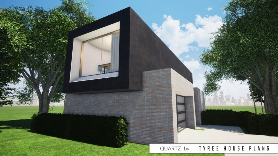 Quartz House Plan by Tyree House Plans