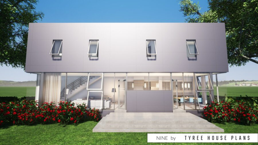 Nine House Plan by Tyree House Plans