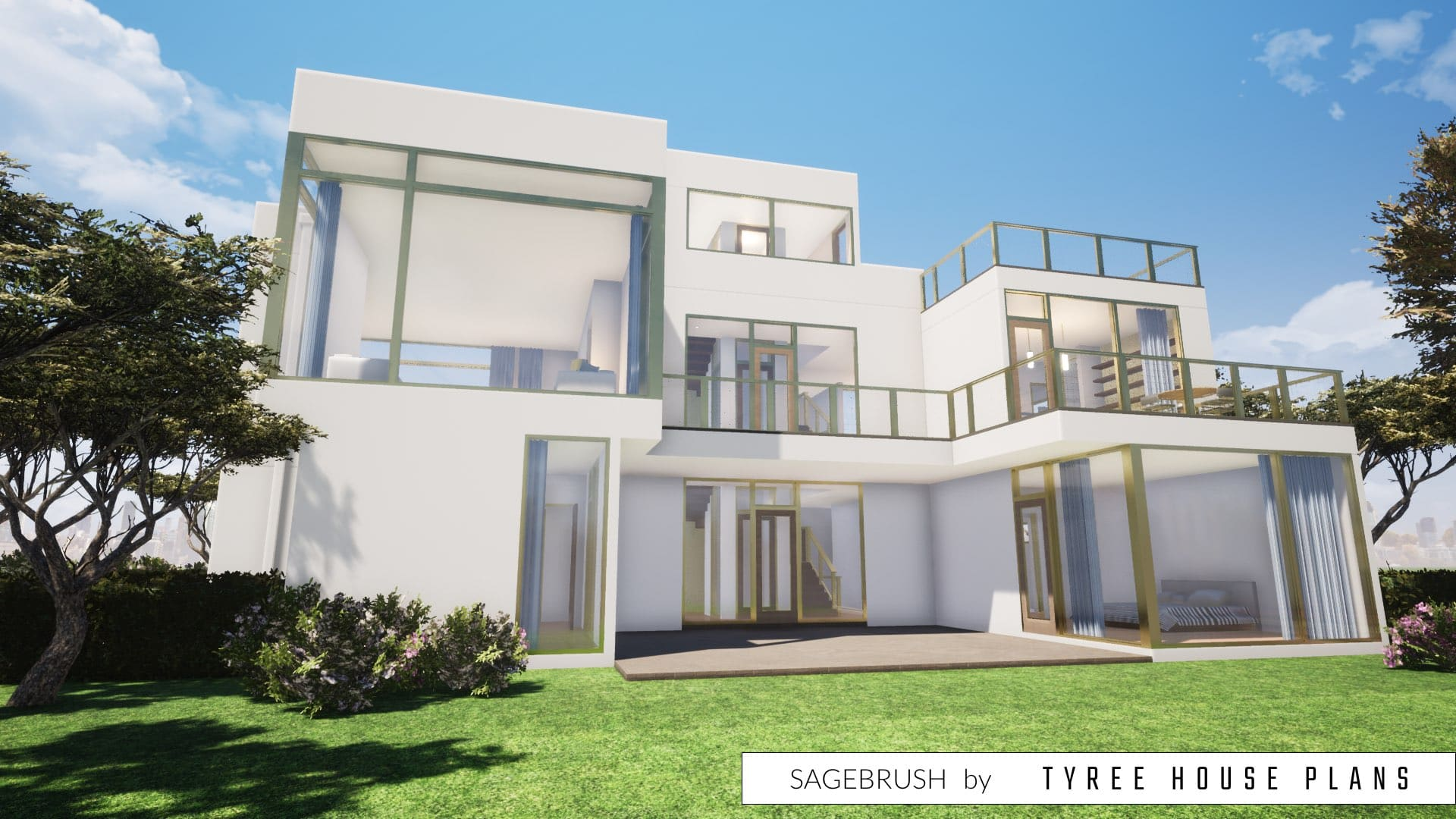 Sagebrush House Plan by Tyree House Plans