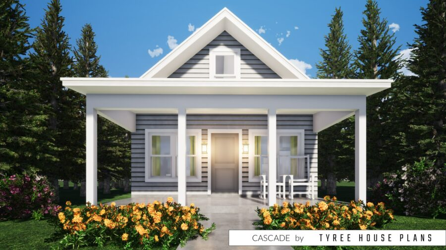 Cascade House Plan by Tyree House Plans