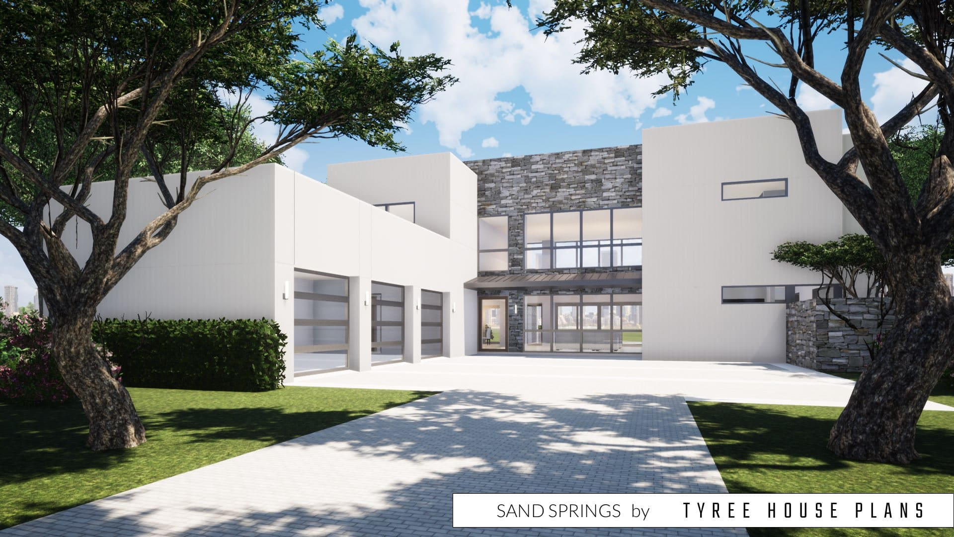 Sand Springs House Plan by Tyree House Plans