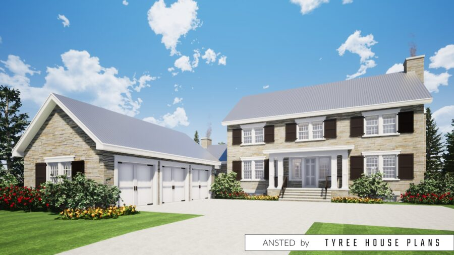 Ansted House Plan by Tyree House Plans