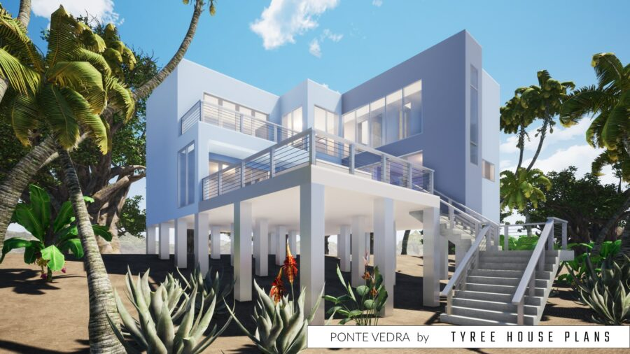 Ponte Vedra House Plan by Tyree House Plans