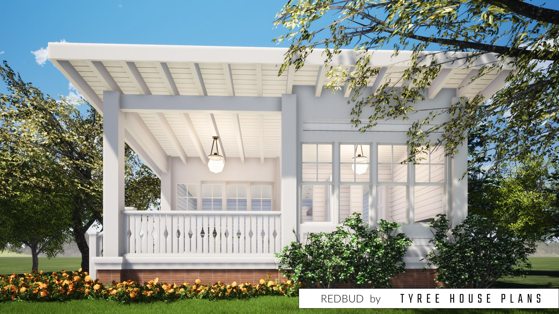 Redbud House Plan by Tyree House Plans