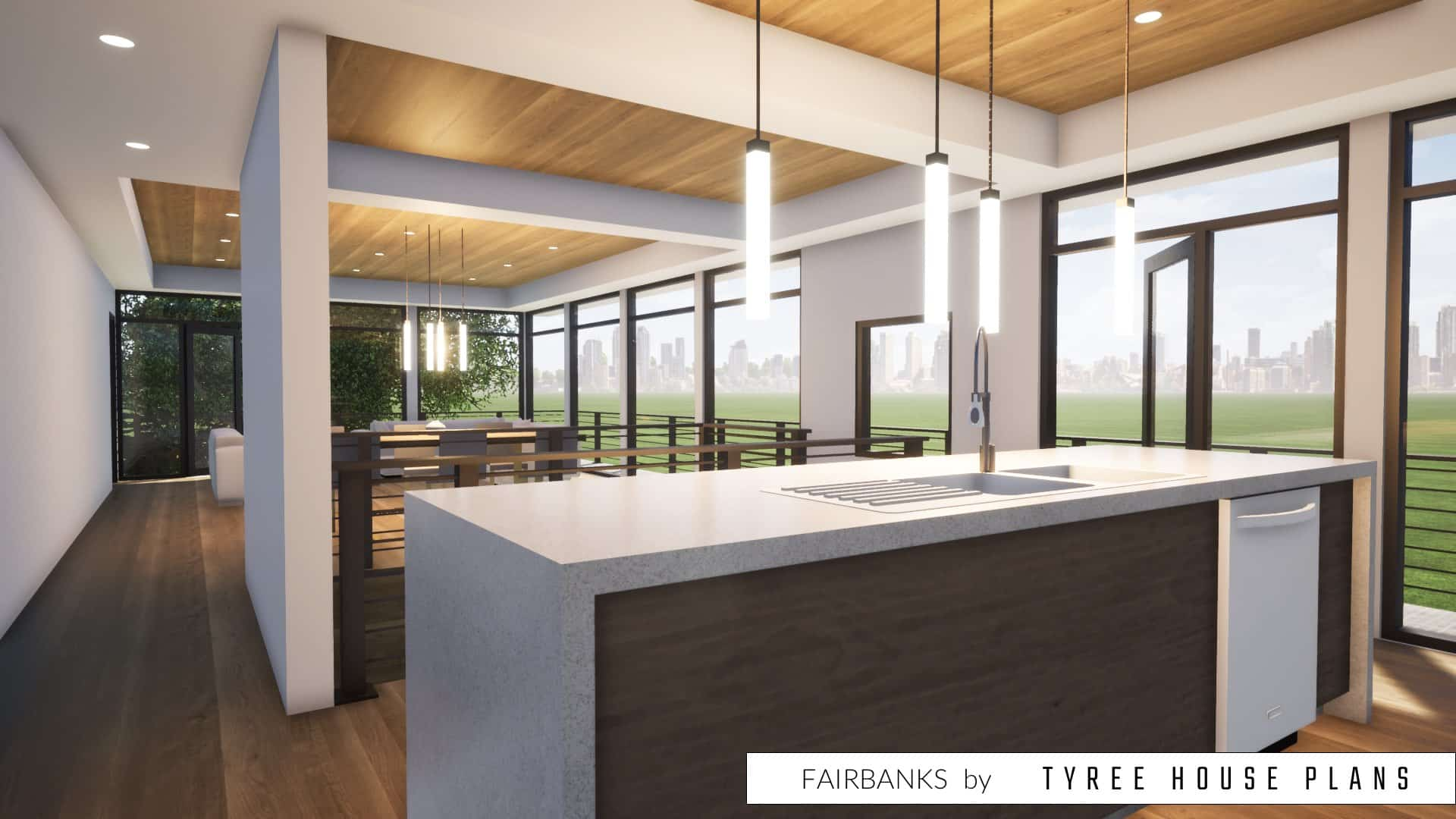 Fairbanks House Plan by Tyree House Plans