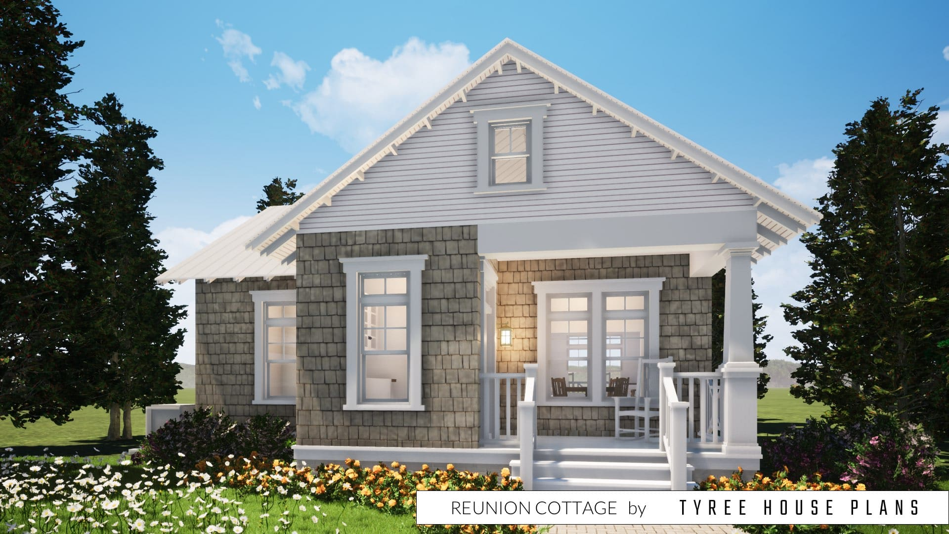 Reunion Cottage House Plan by Tyree House Plans