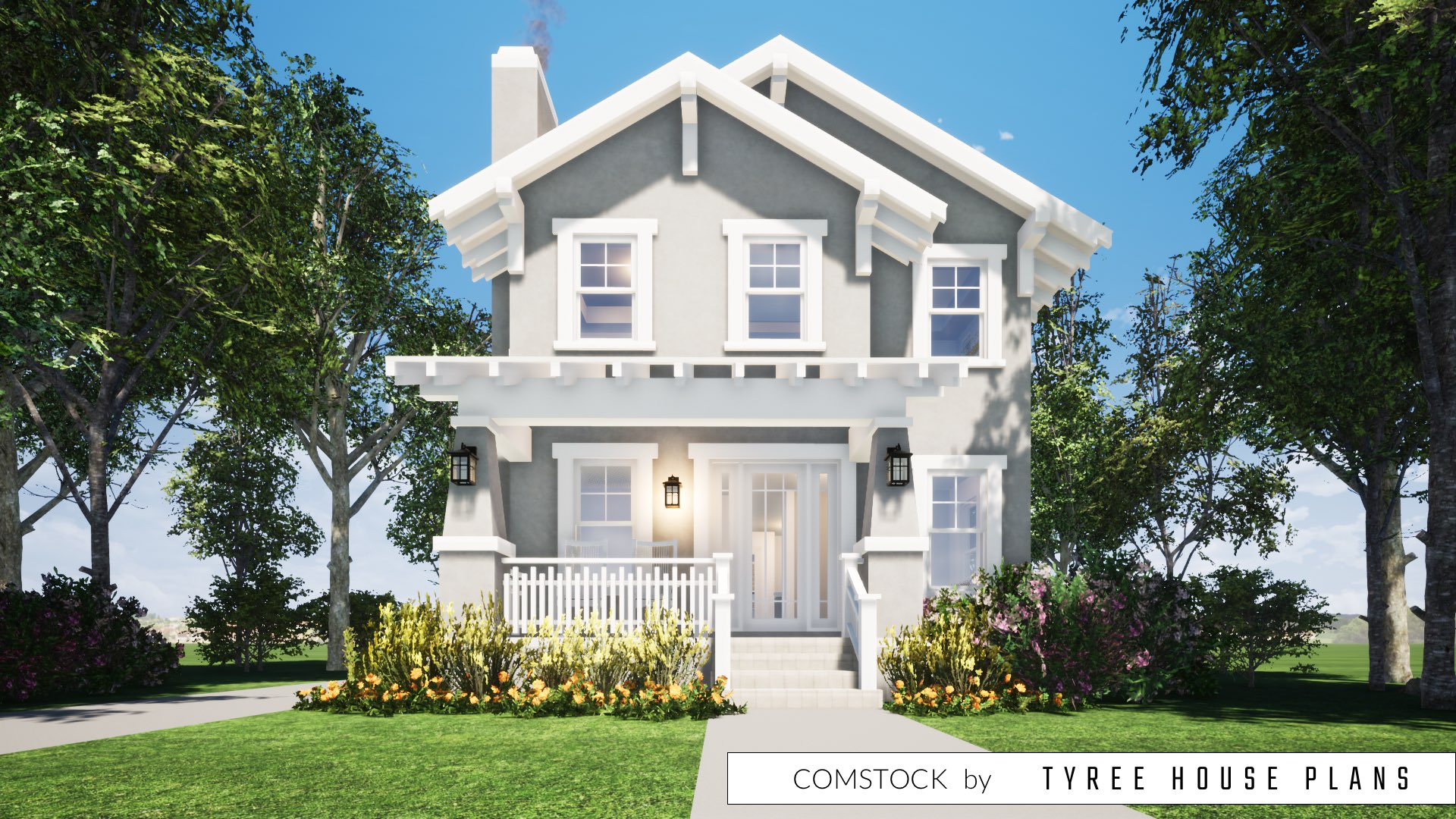Comstock House Plan by Tyree House Plans