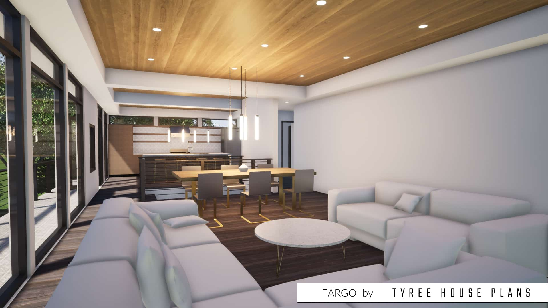Fargo House Plan by Tyree House Plans