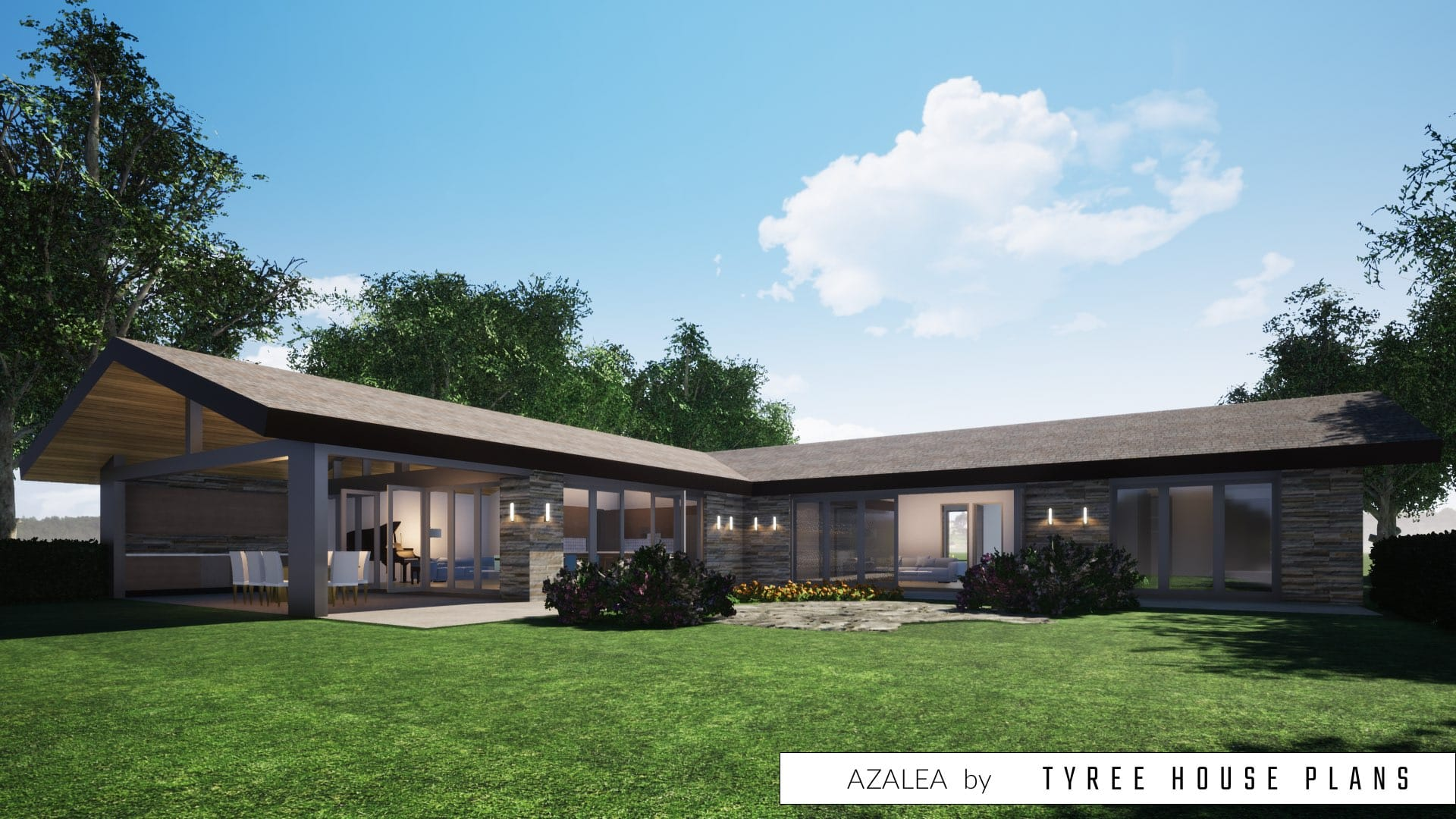 Azalea House Plan by Tyree House Plans