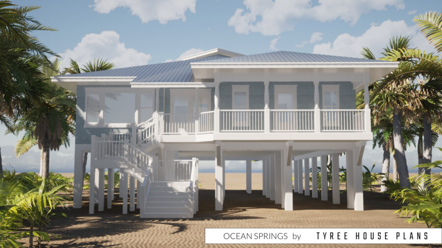 Ocean Springs House Plan by Tyree House Plans